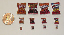 Wholesale Dollhouse Miniature Chips 36 bags Food 1:12 Scale K23 Dollys Gallery