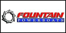 FOUNTAIN POWERBOATS Banner Sign Flag High Quality!!!!