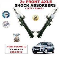 FRONT LEFT RIGHT SHOCK ABSORBERS for FORD FUSION JU 1.25 1.4 1.6 TDCi 2004-2012