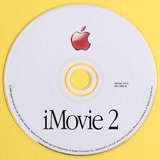 Apple iMovie 2 for Apple iMac G3 PowerPC Computers Version 2.0.3 691-2953-A