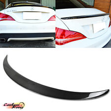 Item In USA Carbon CLA250 A Type Mercedes BENZ C117 W117 Trunk Spoiler 4DR 2017