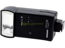 Flash universale Regula Variant 722 1BC con contatto caldo e presa sincro.