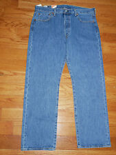 Levi's 501 Straight Leg Button Fly Mens Jeans NEW Men's 29 - 52