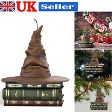 More details for halloween sorting hat christmas pendant magic sound motion ornament party decor