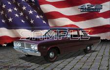 1966 Dodge Coronet 426 Hemi American Muscle Print