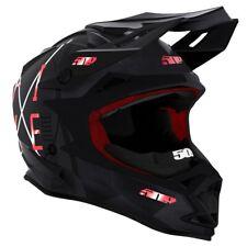 509 Altitude Snow Snowmobile Helmet - Black Aura w/ Fidlock - F01000100-___-001