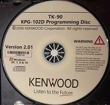 Kenwood KPG-102D Version 2.01Programming Software  for the TK-90
