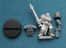 Warhammer 40k Space Marine Librarian in Power Armour Metal OOP (P95)