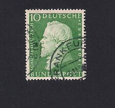 Germany 1958  150th Birth Anniv of Herman Schulze-Delitzsch (Z1)