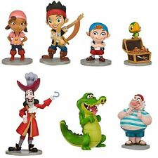 Disney Jake and the Never Land Pirates Figure play set Cake Topper 7 pc Birthday