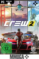 The Crew 2 - PC Uplay Digital Download Key - Ubisoft Spiel Code - Nur Für EU