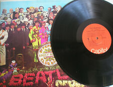 The Beatles Sgt. Pepper's Lonely Hearts Club Band LP US 2nd press 1976