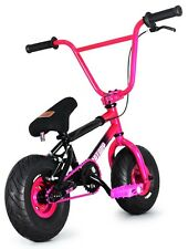 "FatBoy Stunt Mini 10"" BMX Bicycle Fat Tire Freestyle Bike Hellcat Pink Black NEW"