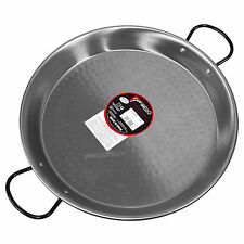 Traditional Spanish Cooking 30cm Carbon Steel Paella Pan Dish Cookware Hob Oven