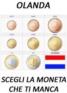 1 2 5 10 20 50 CENT 1 2 EURO OLANDA HOLLAND HOLANDA 1999 - 2014 SPL CIRC.