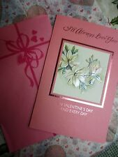 """Vintage VALENTINE'S DAY CARD UNUSED By AMERICAN GREETING """"i'll  Always Love You"""""""