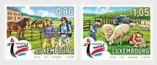 Luxemburg 2019  Toerisme schapen paarden   2w  postfris/mnh