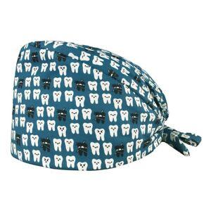 Medicine Scrub Cap Cotton Dentist Surgical Nurse Head Cover Dental Doctor Clinic