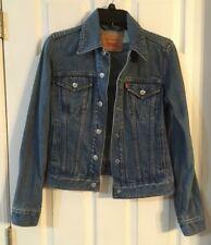 EUC Vintage Levi Strauss Red Label Denim Jean Trucker JACKET Cotton Size S