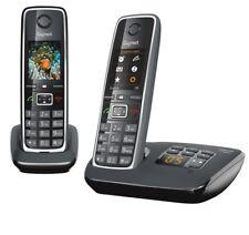 Gigaset C530 A Duo Schwarz schnurlos Festnetztelefon Anrufbeantworter