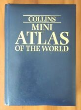 Collins Mini Atlas of the World  Hardcover Free Shipping