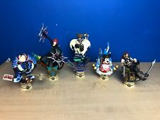 Kingdom Hearts Formation Arts Volume 3 Figure Set Sora Axel Minnie NO URSULA