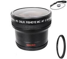 Bower 0.16x Wide Fisheye Lens for Nikon D5600 D3500 D3400 w/ AF-P 18-55mm Lens