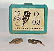 PELIKAN GRAPHOS Plastic box Draft Calligraphy Dip Pen 1.25 Nib