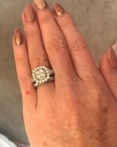 2 Carat Diamond Ring Perfect Fit Bridal Set