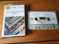 RARE ASIA TAPE - THE BEATLES:  1962-70 (PART 4) CASSETTE. TESTED
