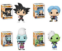 Funko POP! Animation ~ DRAGONBALL Z SUPER VINYL FIGURE SET ~ Goku, Whis, Zamasu+
