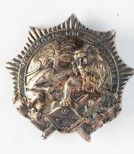 A WWI German Colonial Merit Badge (a.k.a. Lion Order) 1st Class_ORIGINAL!