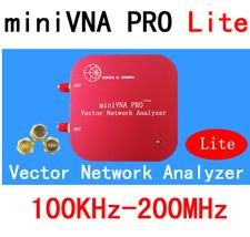 VNA Vector Network Antenna Analyzer miniVNA PRO Lite VHF/NFC/RFID RF SWR/S11 S21