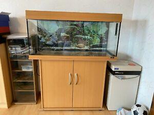 Juwel Rio Aquarium 180 Liter Komplettset Eheim Professional 2224 + Unterschrank