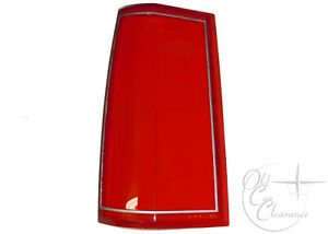 1985-1989 Lincoln Town Car Tail Light Lens LH (E5VY13451A) NEW