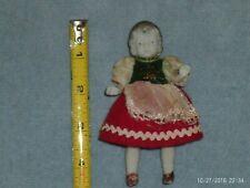 vintage 4 1/2 in. bisque girl doll marked Japan