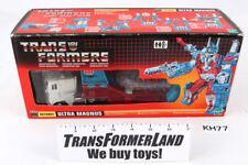 Ultra Magnus TRU w/box Series I Commemorative Reissue Transformers