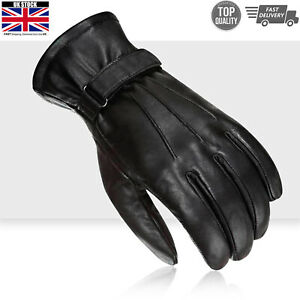 Womens Motorcycle Waterproof Leather Fashion Gloves Touch Screen Compatible UK