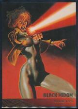 1995 Fleer Ultra Spider-Man Premiere Trading Card #111 Black Widow