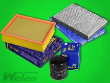 INSPEKTIONSPAKET AUDI A4 B6 2,4 3,0 quattro Luftfilter Ölfilter Aktivkohlefilter