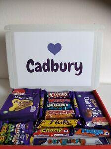LARGE CADBURY CHOCOLATE PERSONALISED GIFT BOX HAMPER BIRTHDAY ANNIVERSARY