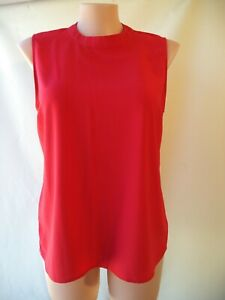 Target Collection size 18 red top sleeveless high neckline