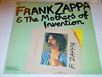 Frank Zappa and the Mothers of Invention LP Verve/Polydor IMPORT MONO RARE 22trk