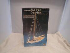 CHESAPEAKE SKIPBACK OYSTER BOAT LINDBERG 1:60 SCALE VINTAGE PLASTIC MODEL KIT