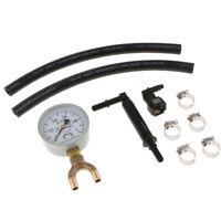 Cars Trucks Fuel Injection Pump Injector Tester Test Pressure Gauge Gasoline
