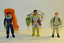 Vtg Kenner The Real Ghostbusters Action Figure Lot Ray Stantz Winston Zedmore