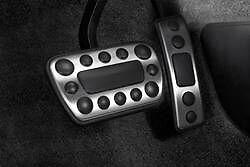 Accelerator, Brake and Clutch Pedal Pad Set GM OEM 12499876
