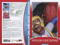 MOON GIRL AND DEVIL DINOSAUR #25 CHRISTOPHER TRADING CARD VARIANT MARVEL COMICS