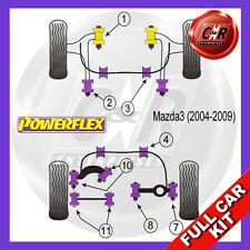 Mazda 3 MPS (04-09) 12mm Front Lower Wishbone Bush Bolt Powerflex Full Bush Kit