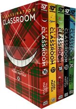 Assassination Classroom Vol 16-20 Collection 5 Books Set (Series 4) Yusei Matsui